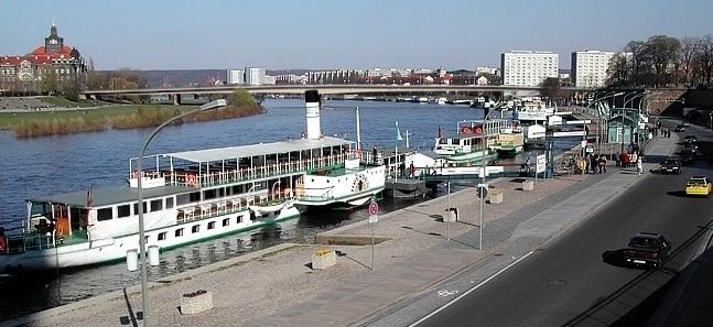 Dresden und sachsen   dresden   brühlsche terrasse, museum festung ...