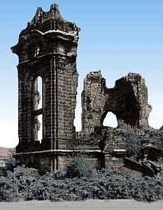 Ruine der Frauenkirche (1945 bis 1993)